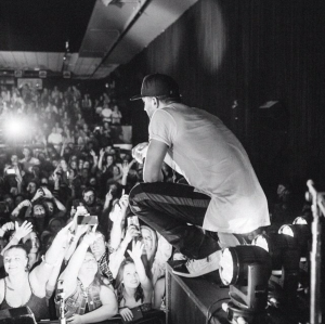 Sam Hunt & crowd at the Bourbon. March 20