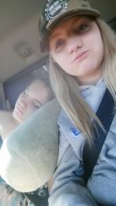 sis cuddle sesh 💜 sleepy shay shay