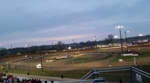 Eagle Raceway a few weeks back.