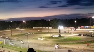 Eagle Raceway Saturday night. not pictured: the dirty, dust storm 😉😂