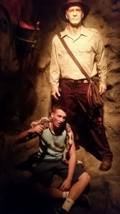 Wax Museum: Indiana Jones & Canorah