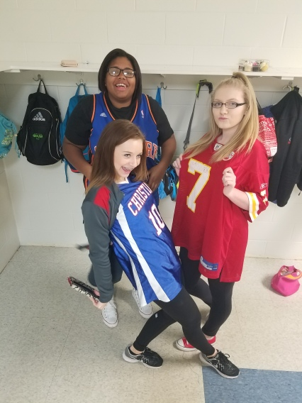 reppin' the Chiefs of course!!! ;)