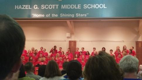 Katie's Fall Chorus Concert!